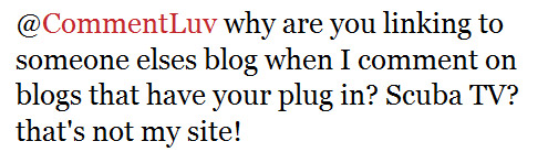 Why are you linking to someone elses blog?