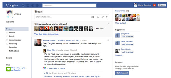 turn google plus into facebook