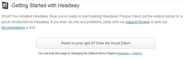 Getting started with Headway 2.0