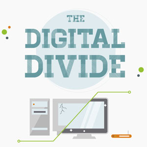 Digital Divide Infographic
