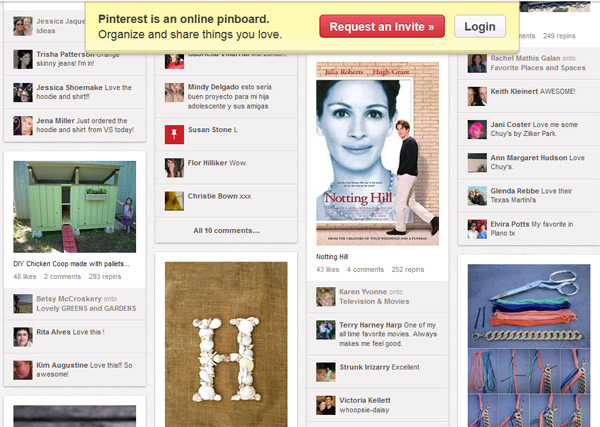Pinterest visually intriguing images