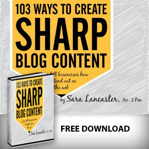Sharp Blog Content