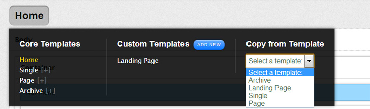 Thesis Custom Templates