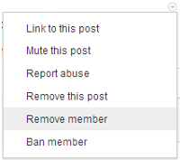 google plus communities remove