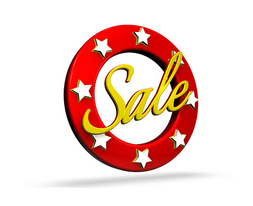 Sales and dscounts for web traffic