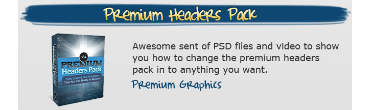 Premium Headers Pack