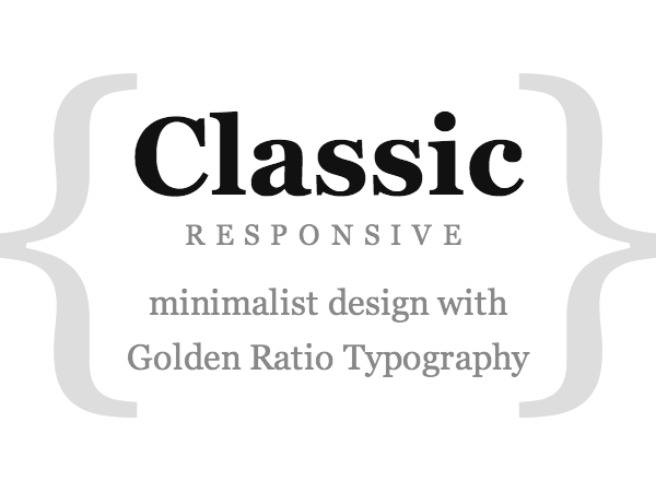 Thesis Classic Responsive Skin