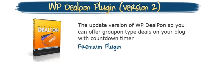WP Dealpon Plugin
